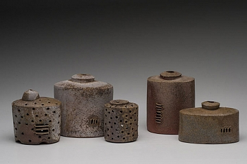 Still Life of Small Bottle Forms, 2012