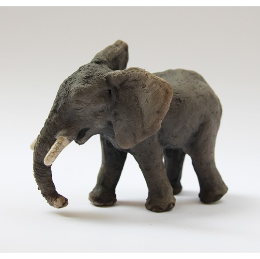 Ceramic Teenage Elephant
