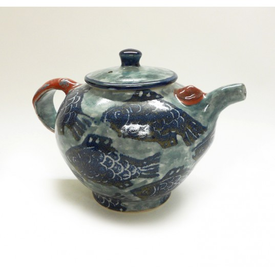 Fish Motif Teapot