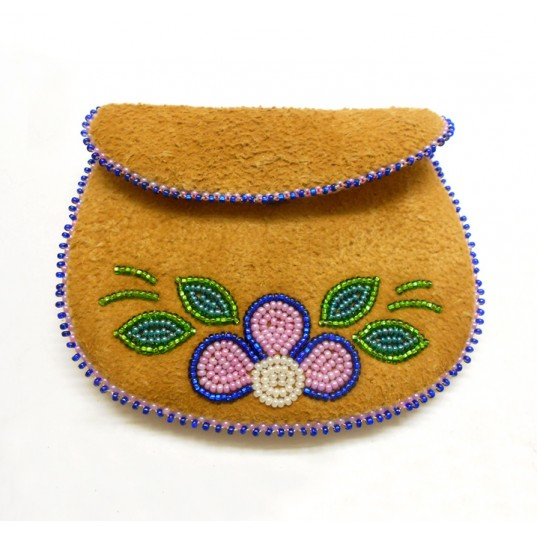 Change Purse - Hand Sewn and Beaded
