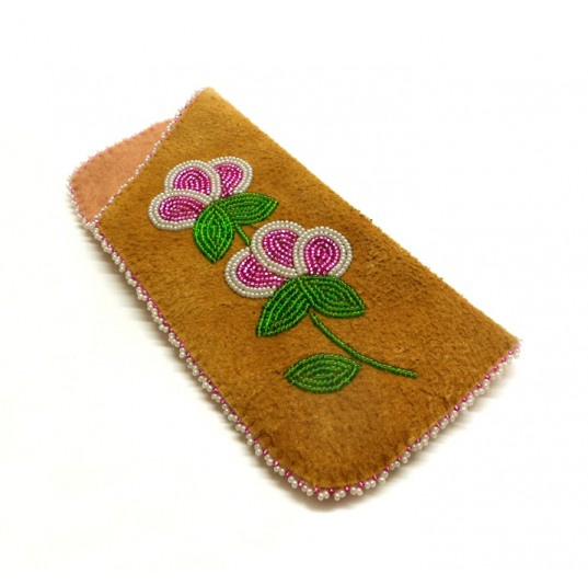 Eyeglass Case - Hand Sewn and Beaded
