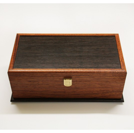 Bubinga and Wenge Jewellery Box